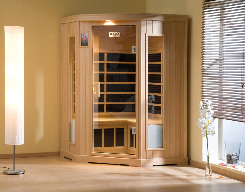infrarotkabine helo sun w rmekabine fl chenheizsystem. Black Bedroom Furniture Sets. Home Design Ideas