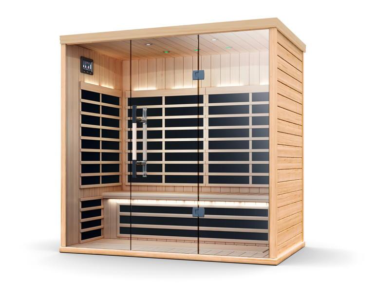 infrarotkabine helo sun s pure infra w rmekabine. Black Bedroom Furniture Sets. Home Design Ideas