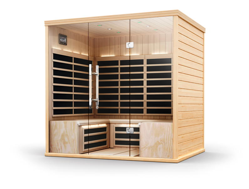 infrarotkabine helo sun s pure infra residence. Black Bedroom Furniture Sets. Home Design Ideas