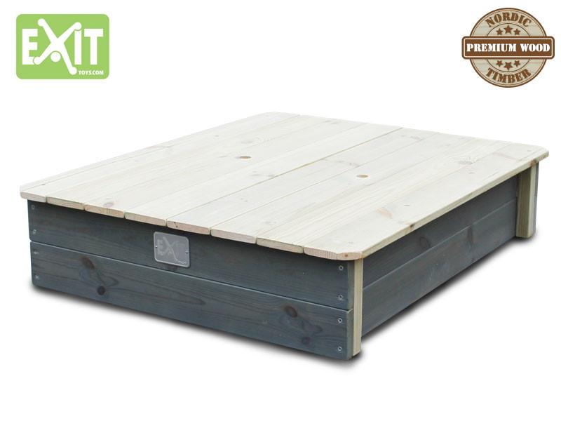 sandkasten exit aksent sandkiste sandbox aus holz. Black Bedroom Furniture Sets. Home Design Ideas