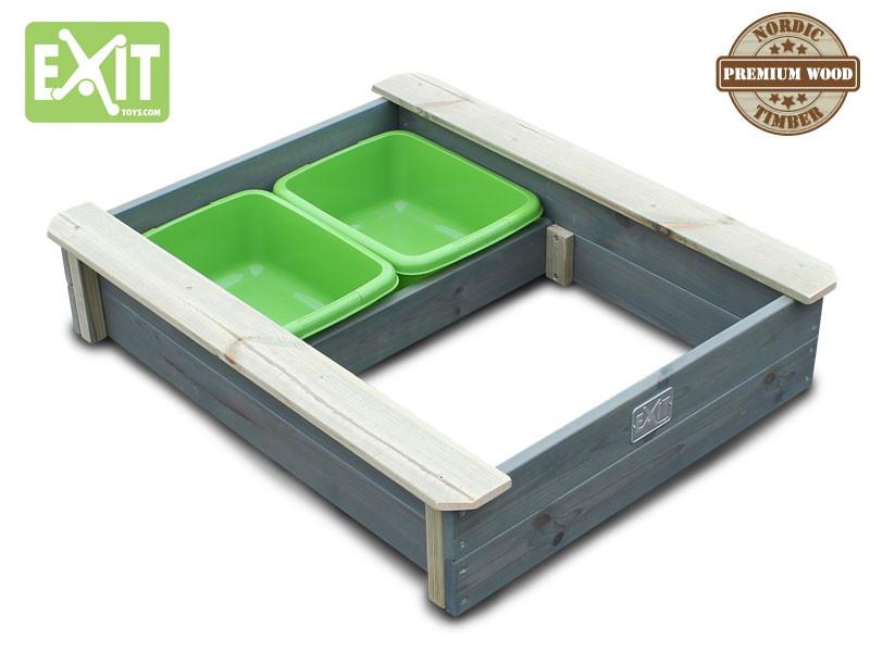 Sandkasten EXIT «Aksent» Sandkiste Sandbox aus Holz