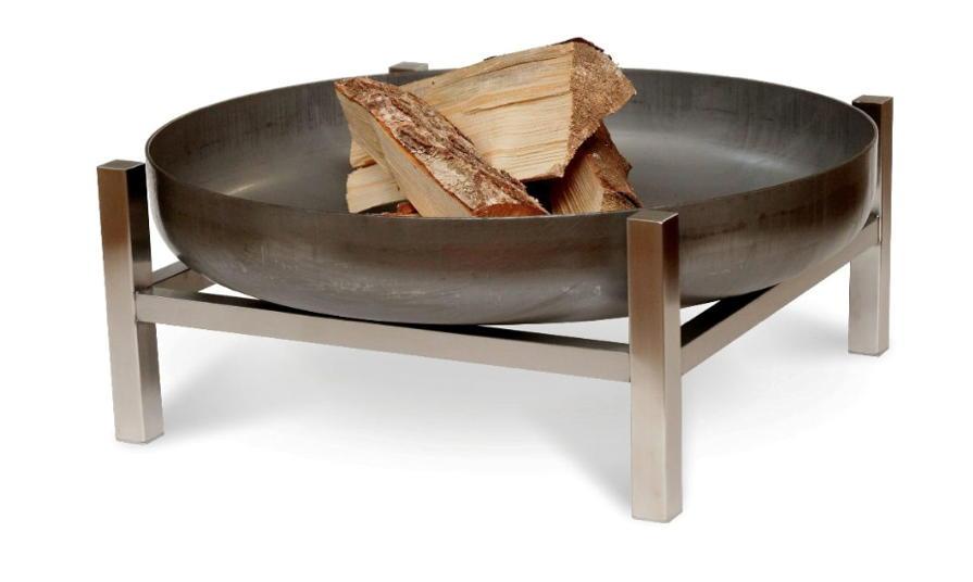 feuerschale svenskav design cube terrassenfeuer feuerstelle terrassenofen vom garten. Black Bedroom Furniture Sets. Home Design Ideas