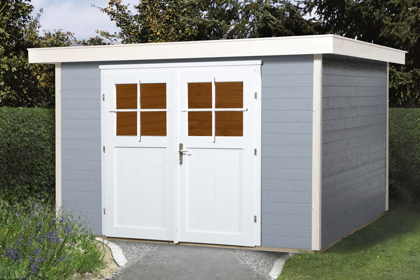 gartenhaus flachdach weka vinea gr e 3. Black Bedroom Furniture Sets. Home Design Ideas
