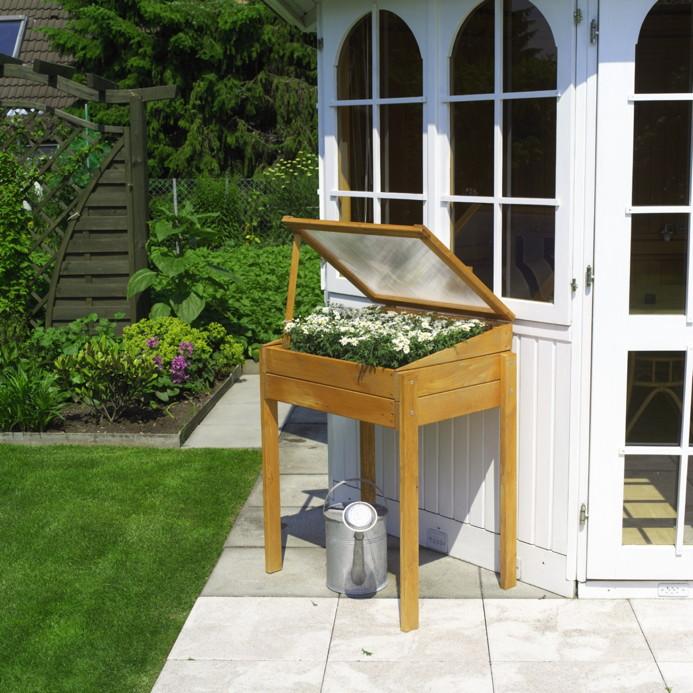 anpflanzbeet promadino fr hbeet hochbeet anzuchtbeet auf stelzen gew chshaus tomatenhaus. Black Bedroom Furniture Sets. Home Design Ideas