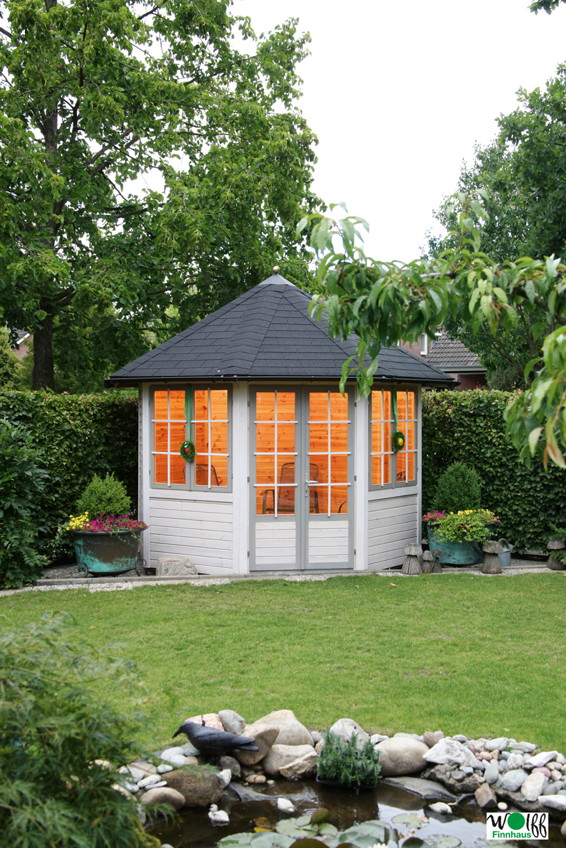 gartenpavillon garten holz haus. Black Bedroom Furniture Sets. Home Design Ideas