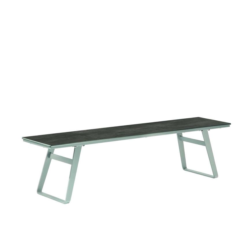 gartenbank niehoff ninon bank 180cm ohne r ckenlehne hpl. Black Bedroom Furniture Sets. Home Design Ideas