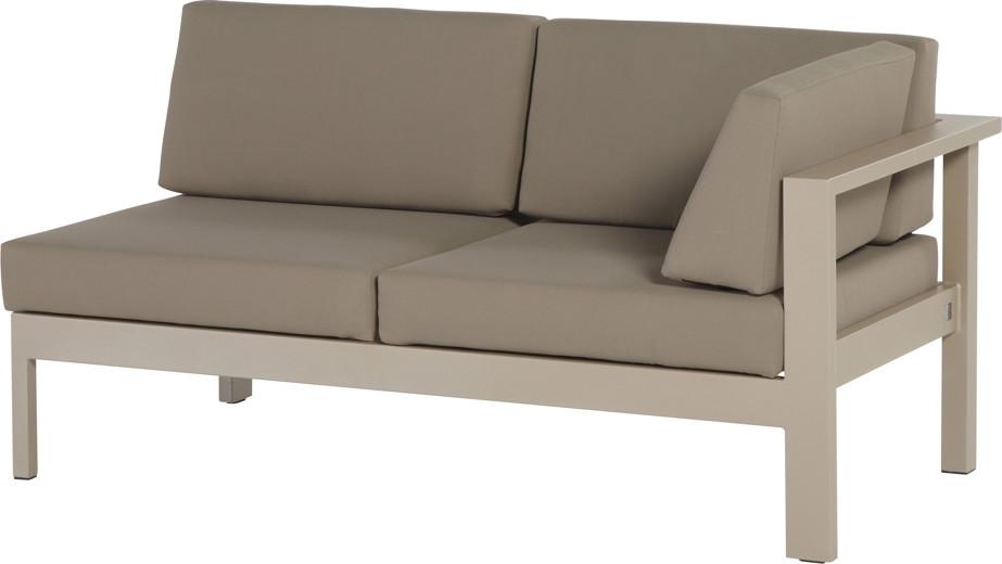 gartenbank 4seasons cosmo 2 sitzer lounge armlehne links. Black Bedroom Furniture Sets. Home Design Ideas