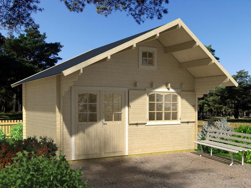 gartenhaus palmako paul wochenendhaus ferienhaus gartenhaus aus holz g nstig kaufen im shop. Black Bedroom Furniture Sets. Home Design Ideas