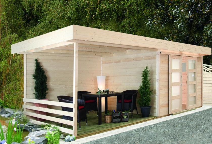 gartenhaus flachdach wolff pulti varianta 28st holz haus bausatz gartenhaus aus holz g nstig. Black Bedroom Furniture Sets. Home Design Ideas