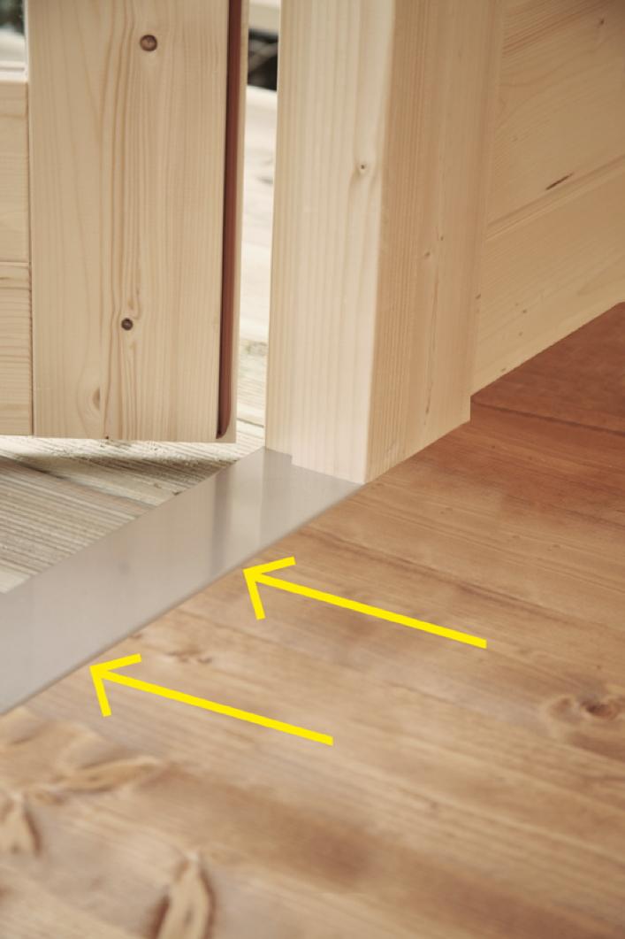 gartenhaus 560x410cm holzhaus bausatz doppelt r modern satteldach vom garten fachh ndler. Black Bedroom Furniture Sets. Home Design Ideas