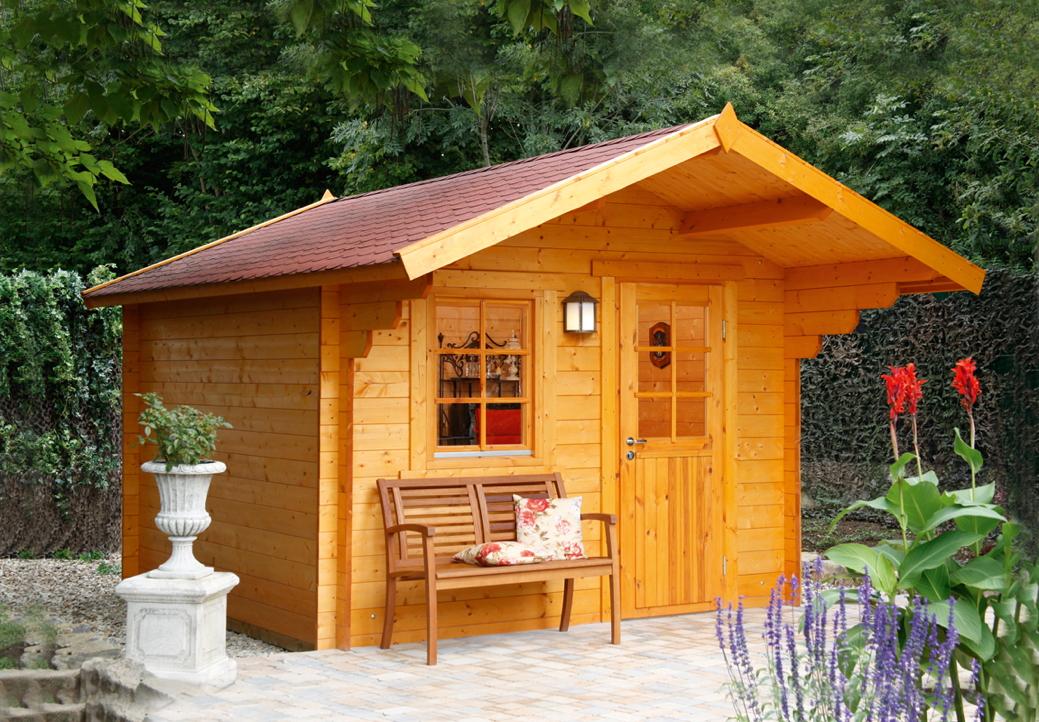sauna ins gartenhaus my blog. Black Bedroom Furniture Sets. Home Design Ideas