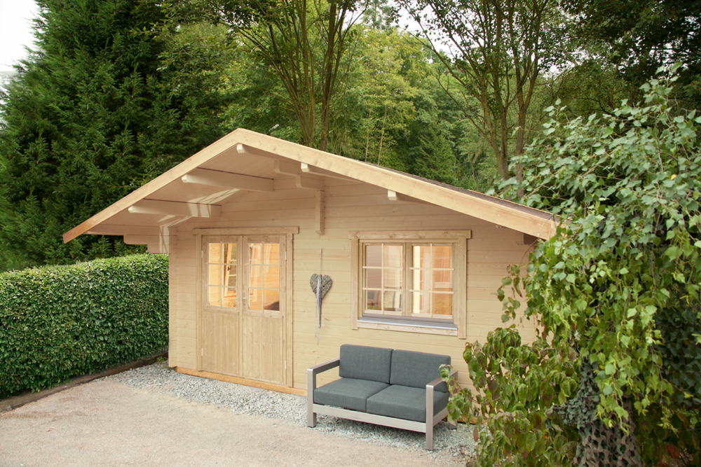 gartenhaus wolff 500x500cm holzhaus 3 raum ferienhaus bausatz 70mm gartenlaube vom garten. Black Bedroom Furniture Sets. Home Design Ideas