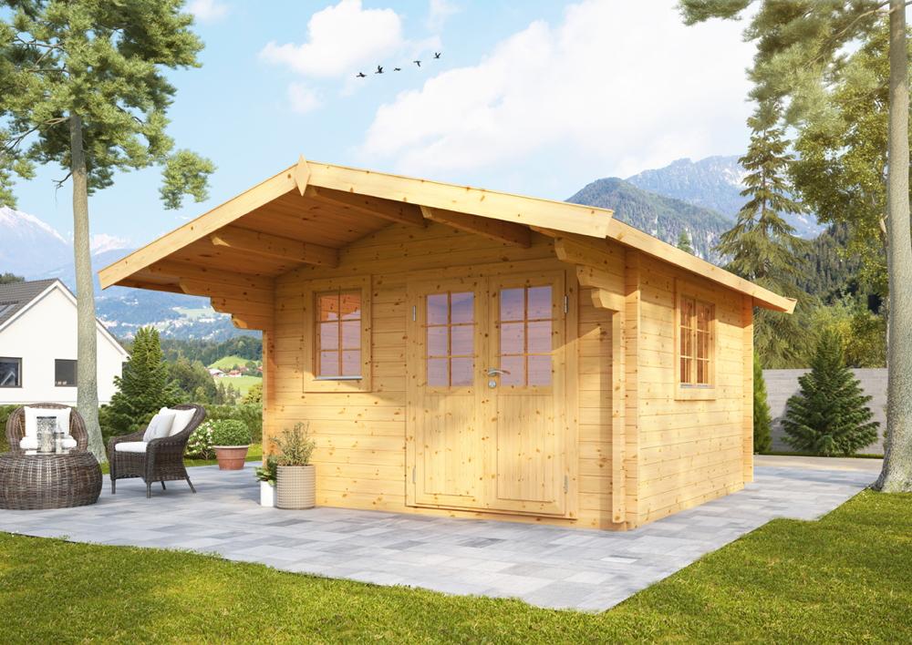 gartenhaus-360x300cm-holzhaus-bausatz-70mm-gartenlaube-doppeltur
