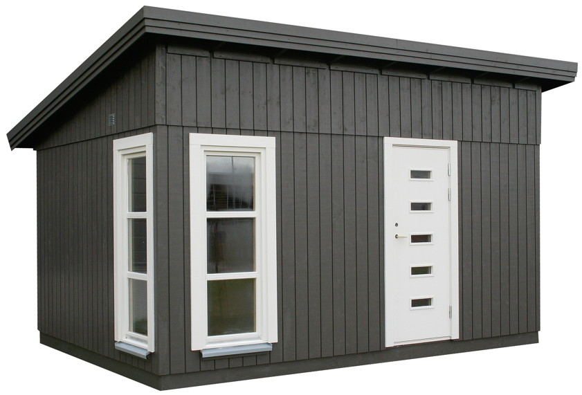 ger tehaus palmako balduin flachdach gartenhaus aus holz g nstig kaufen im shop von holz. Black Bedroom Furniture Sets. Home Design Ideas