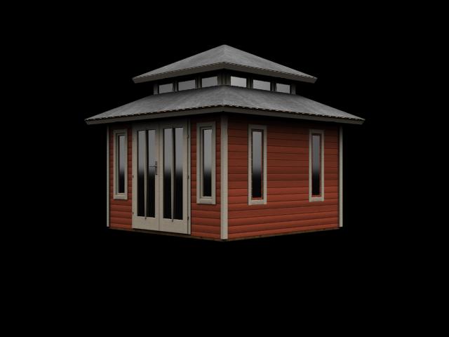 gartenhaus karibu haugesund halland ebay. Black Bedroom Furniture Sets. Home Design Ideas