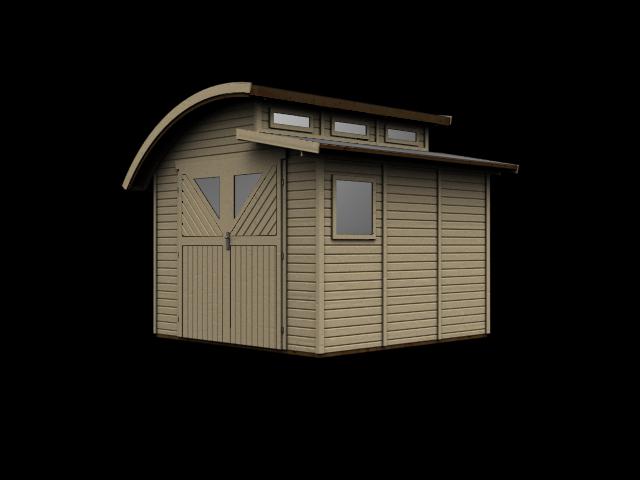 gartenhaus karibu mellum 3 ebay. Black Bedroom Furniture Sets. Home Design Ideas