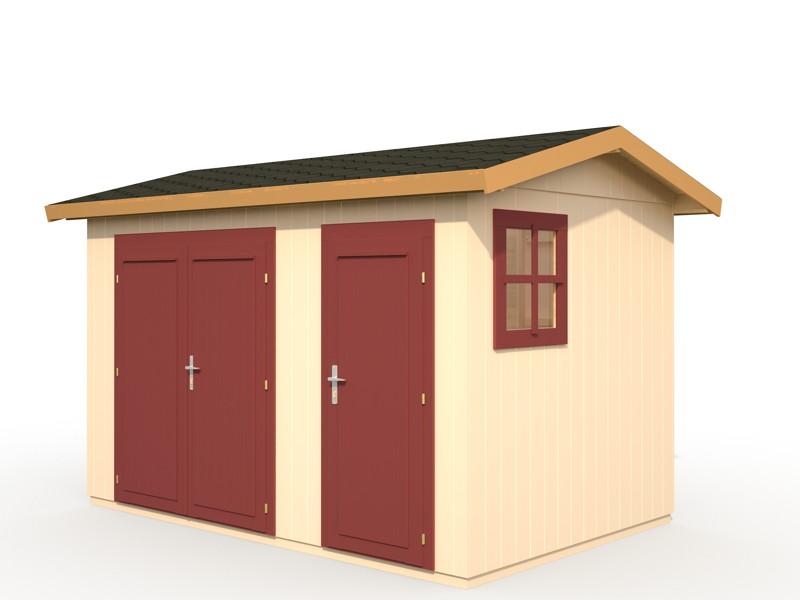 ger tehaus palmako frank 2 ger tehaus mit satteldach. Black Bedroom Furniture Sets. Home Design Ideas