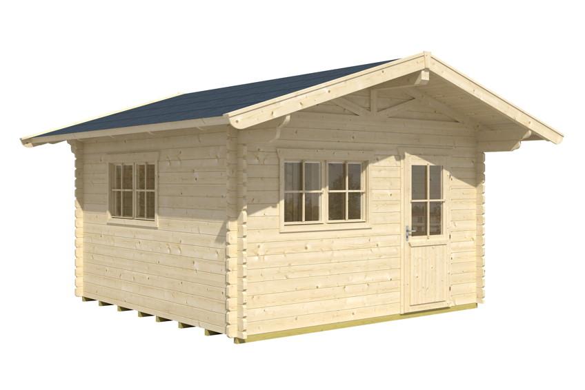 gartenhaus skanholz davos mit einzelt r gartenhaus aus holz g nstig kaufen im shop von holz. Black Bedroom Furniture Sets. Home Design Ideas