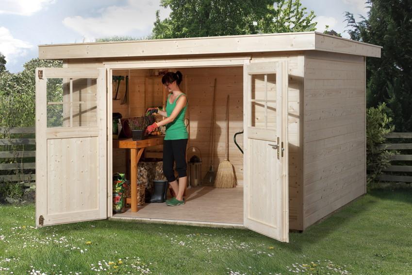 Gartenhaus Flachdach Angebot | My blog