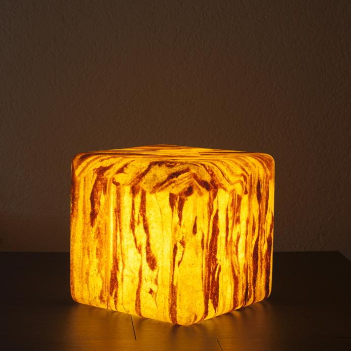 gartenlampe aussenlampe cube sahara d mmerungsschalter eckige leuchte gartenm bel fachhandel. Black Bedroom Furniture Sets. Home Design Ideas