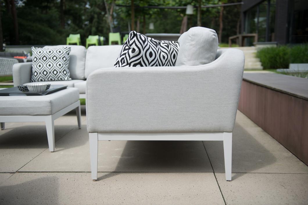 gartenbank 4seasons almeria 2er sofa couchelement armelehne rechts gartenm bel fachhandel. Black Bedroom Furniture Sets. Home Design Ideas