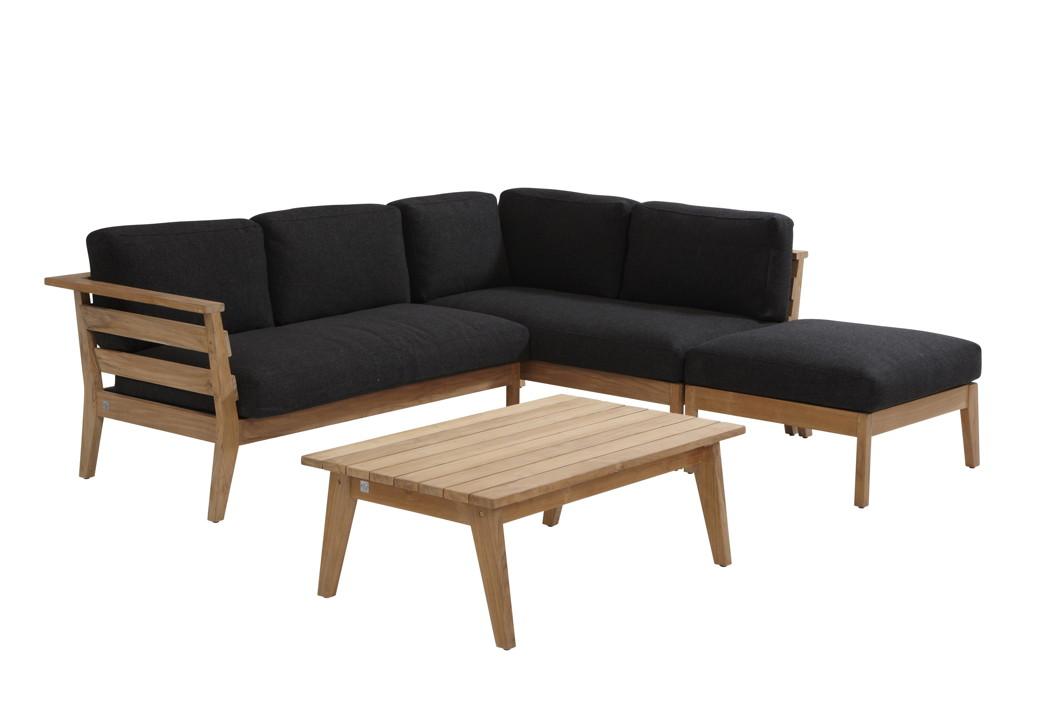 sitzgruppe 4seasons polo loungegruppe teakholzgartenm bel set 3 gartenm bel fachhandel. Black Bedroom Furniture Sets. Home Design Ideas