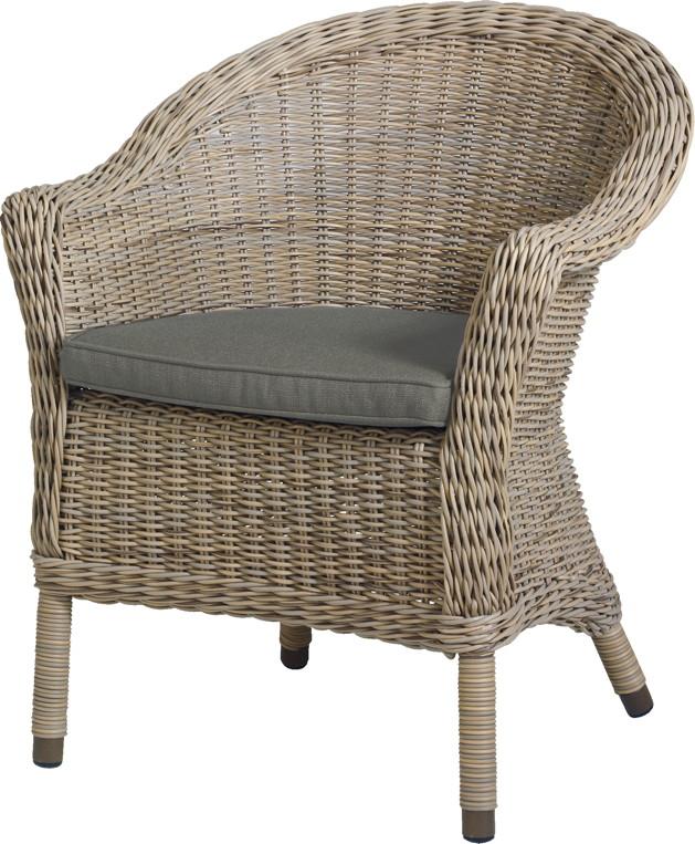gartenstuhl 4seasons chester pure sessel loungesessel korbsessel 4 seasons gartenm bel serie. Black Bedroom Furniture Sets. Home Design Ideas
