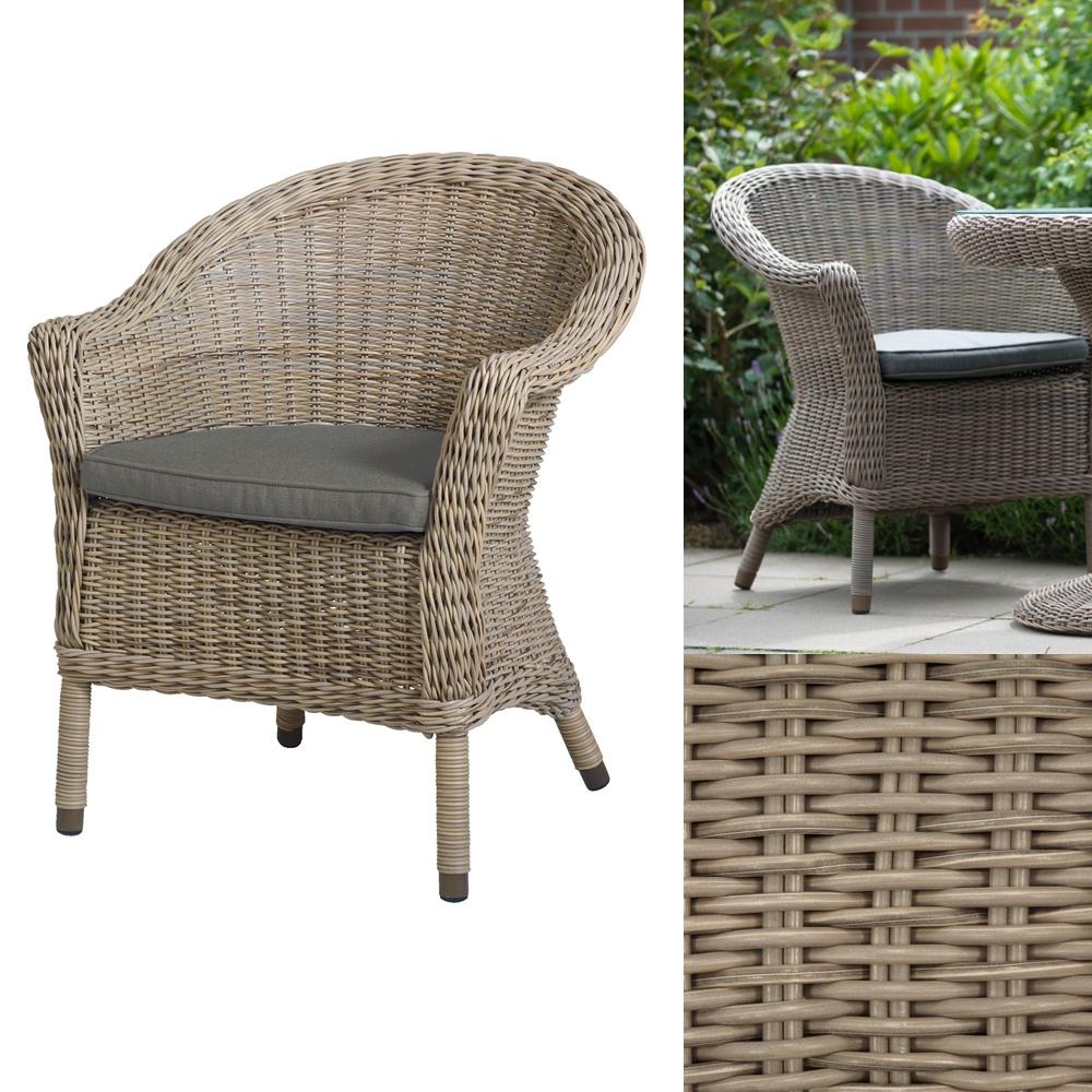 gartenstuhl 4seasons chester pure sessel loungesessel korbsessel gartenm bel fachhandel. Black Bedroom Furniture Sets. Home Design Ideas