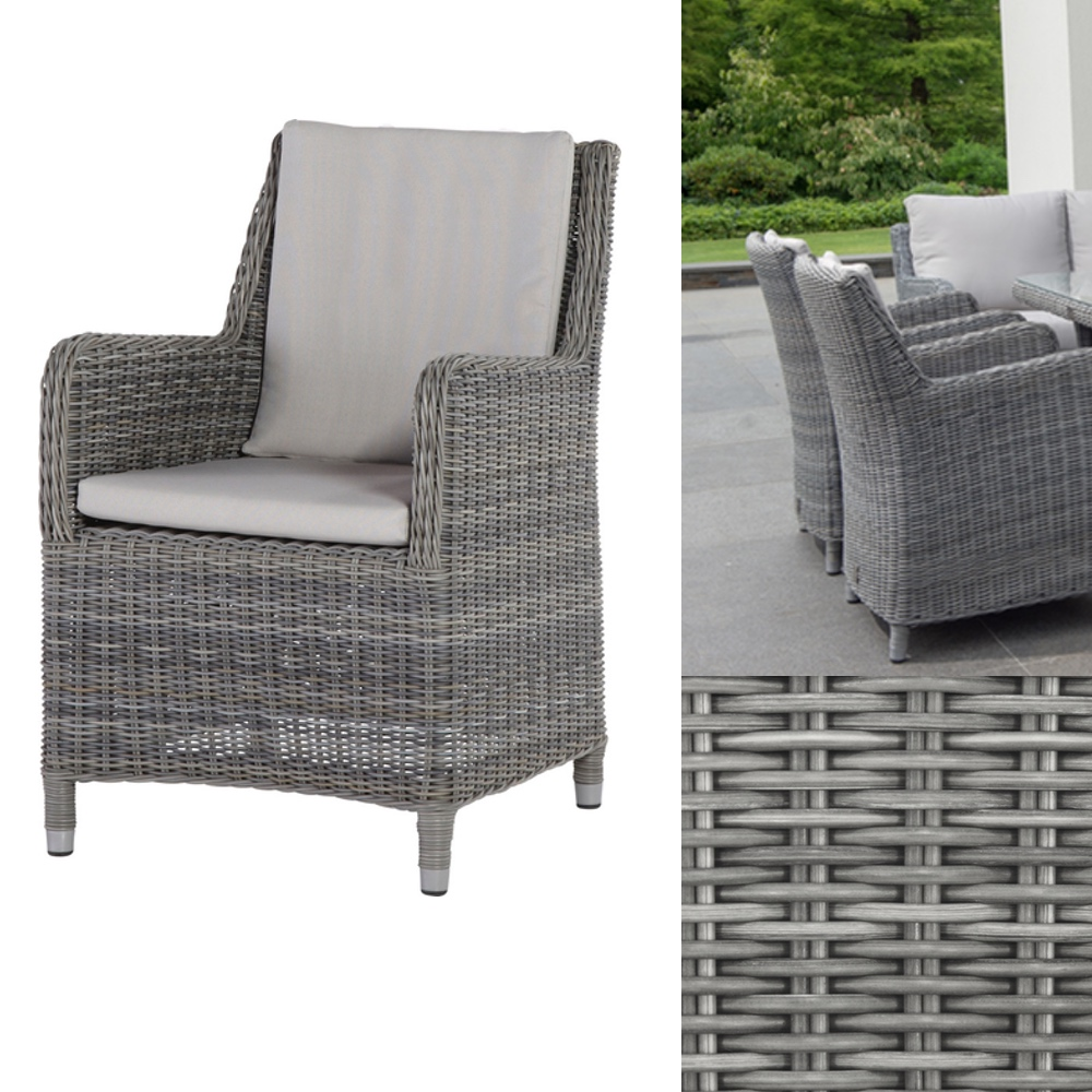 gartenstuhl rattan indigo rock sessel polyrattan geflecht premium holz angebot. Black Bedroom Furniture Sets. Home Design Ideas