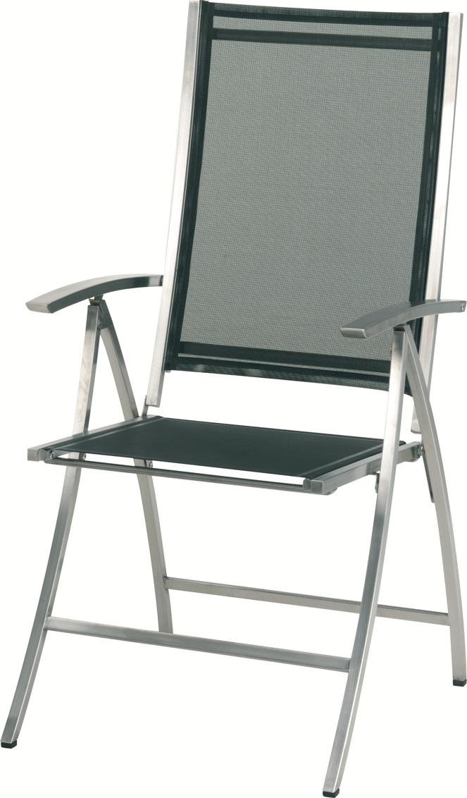 gartenstuhl 4seasons plaza hochlehner schwarz. Black Bedroom Furniture Sets. Home Design Ideas
