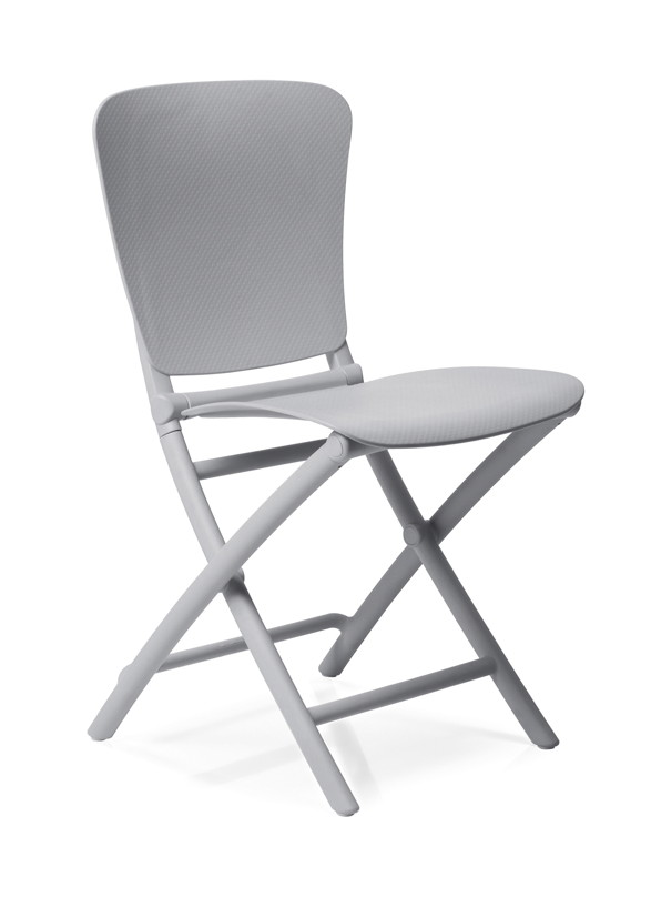 gartenstuhl nardi zac classic grau klappstuhl kunststoffstuhl balkonstuhl. Black Bedroom Furniture Sets. Home Design Ideas