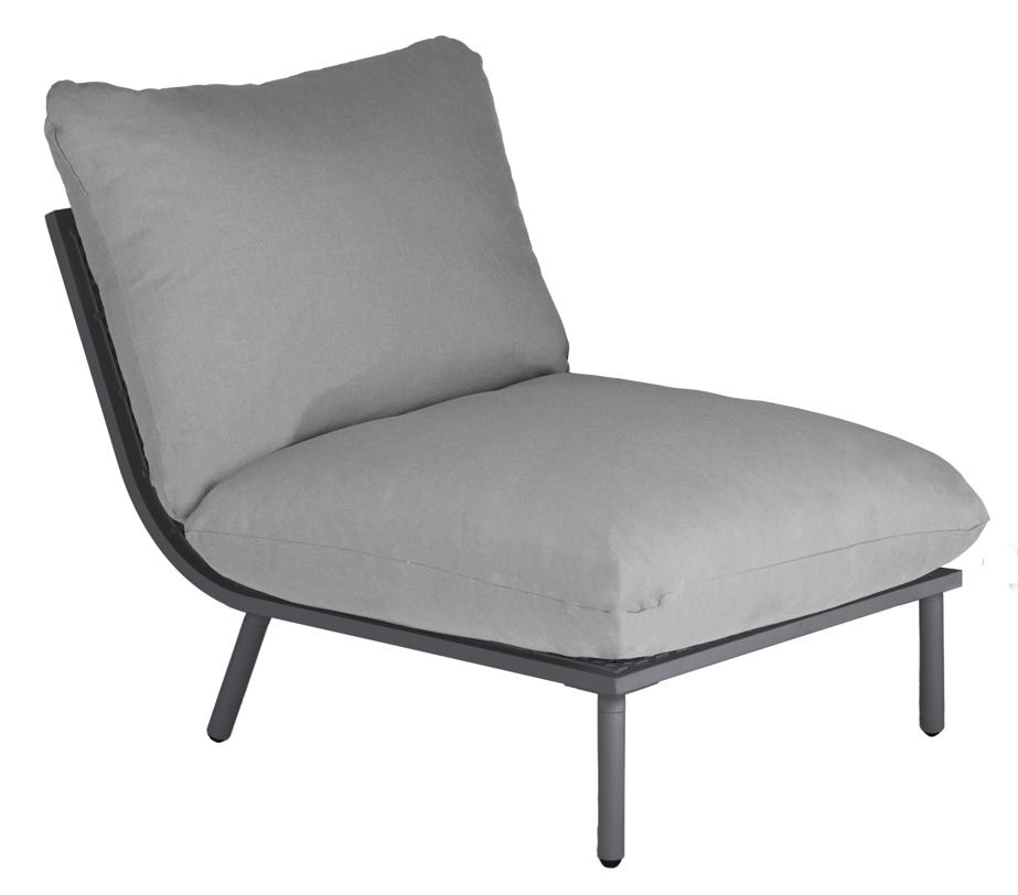 sitzgruppe alexander rose beach flint lounge kissen grau gartenm bel set 1 gartenm bel. Black Bedroom Furniture Sets. Home Design Ideas