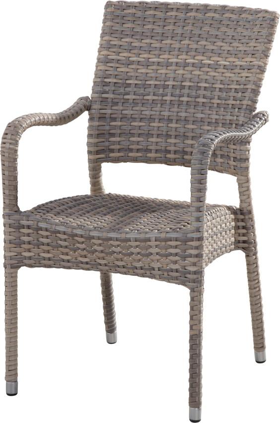 gartentstuhl 4seasons dover lagun stapelsessel korbsessel geflecht gartenm bel fachhandel. Black Bedroom Furniture Sets. Home Design Ideas