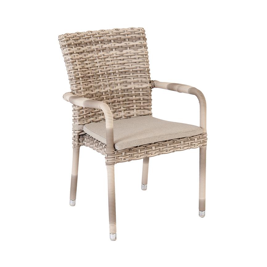 gartenstuhl alexander rose kool pearl stapelsessel korbsessel gartenm bel fachhandel. Black Bedroom Furniture Sets. Home Design Ideas