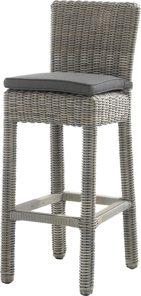 gartenstuhl 4seasons wales pure barhocker rattan. Black Bedroom Furniture Sets. Home Design Ideas