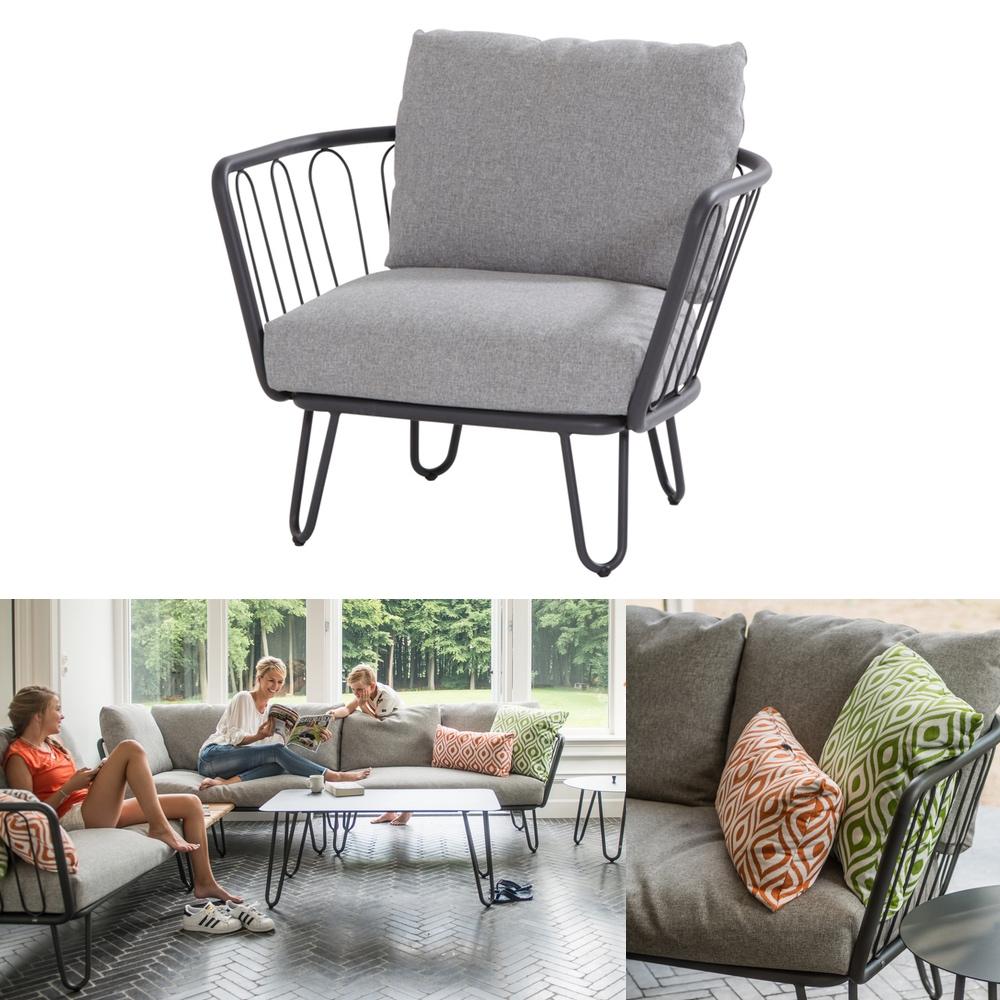 gartenstuhl 4seasons premium sessel loungesessel aluminium gartenm bel fachhandel. Black Bedroom Furniture Sets. Home Design Ideas