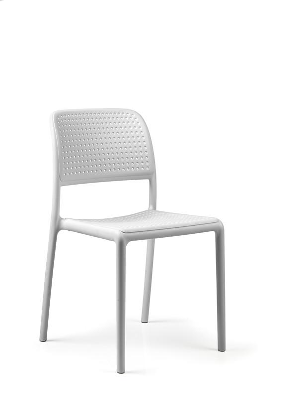 gartenstuhl nardi bora bistrot wei stapelstuhl. Black Bedroom Furniture Sets. Home Design Ideas