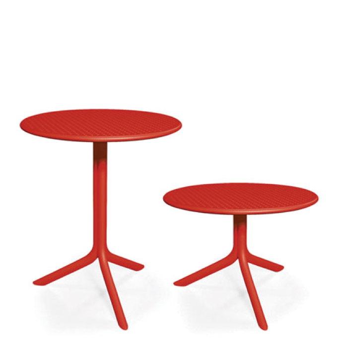 gartenm bel set nardi spring step rot set 3 sitzgruppe balkonm bel gartenm bel fachhandel. Black Bedroom Furniture Sets. Home Design Ideas