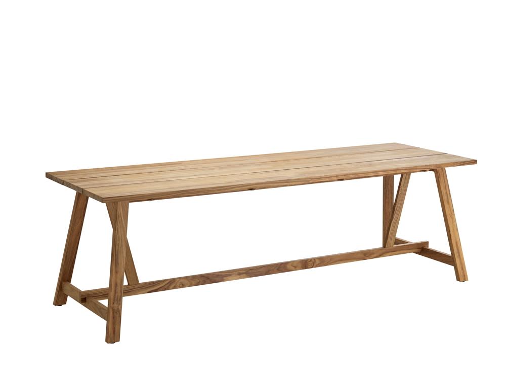 gartentisch solpuri country esstisch 240x80 teakholz. Black Bedroom Furniture Sets. Home Design Ideas