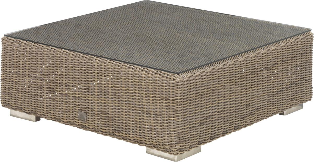 Gartentisch 4Seasons «Kingston PURE» Couchtisch 95x95cm