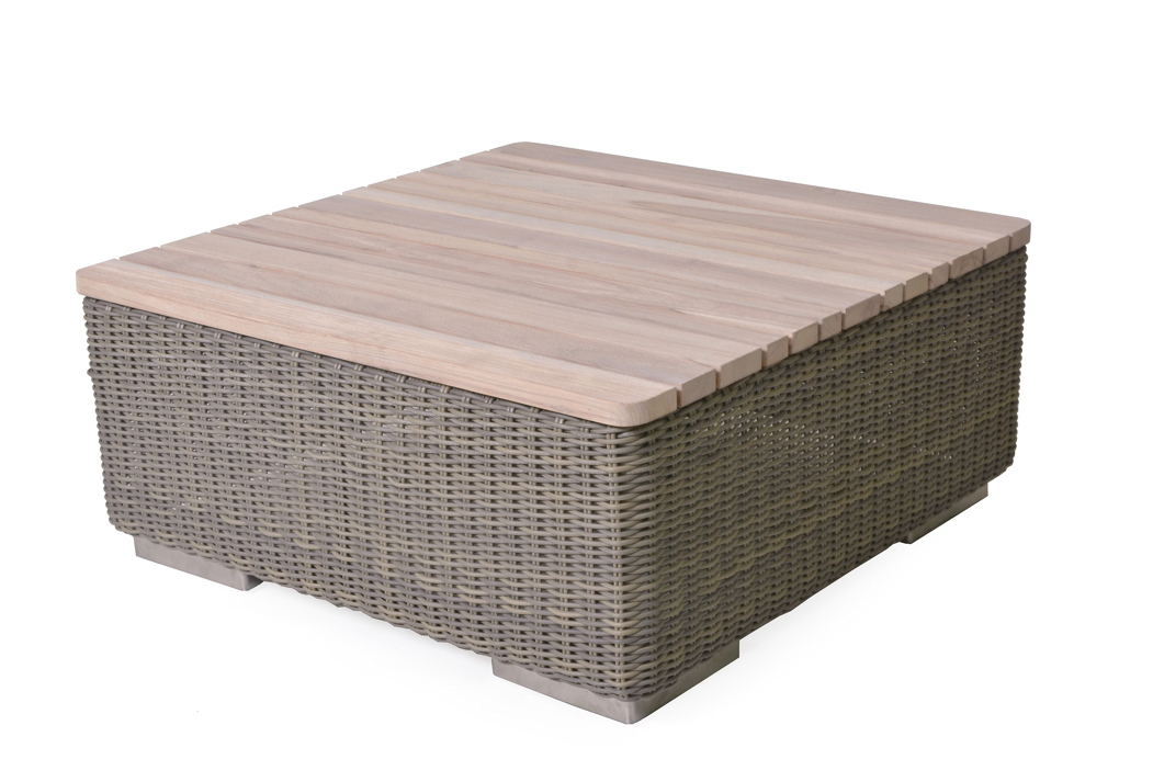 Gartentisch 4Seasons «Kingston PURE» Couchtisch 80x80cm