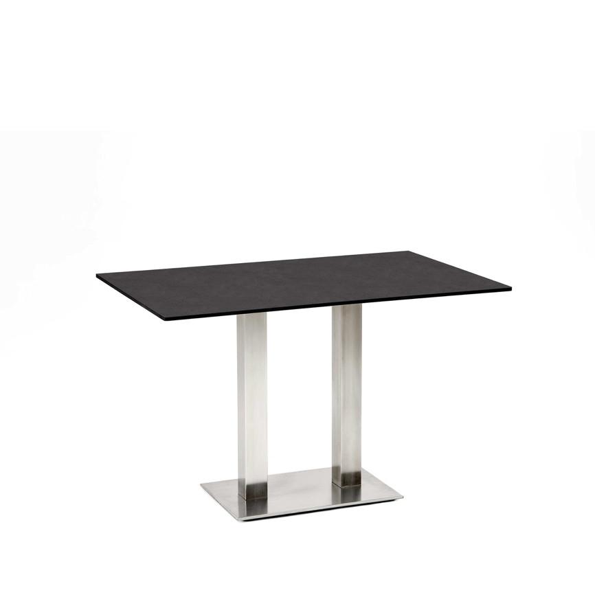 gartentisch niehoff bistrotisch 138x95 hpl granit design esstisch gartenm bel fachhandel. Black Bedroom Furniture Sets. Home Design Ideas