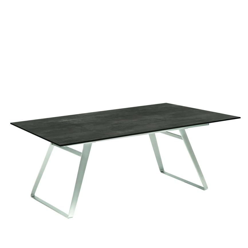 Gartentisch Niehoff Ninon Esstisch 200x95 Hpl Granit Design Vom