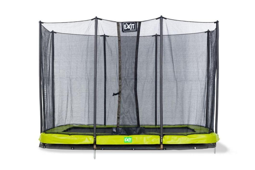 kinder trampolin exit twist ground gr n 244x427. Black Bedroom Furniture Sets. Home Design Ideas