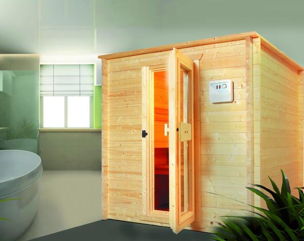 heimsauna nordia salo blockbohlen sauna fronteinstieg heimsauna selbstbau sauna. Black Bedroom Furniture Sets. Home Design Ideas