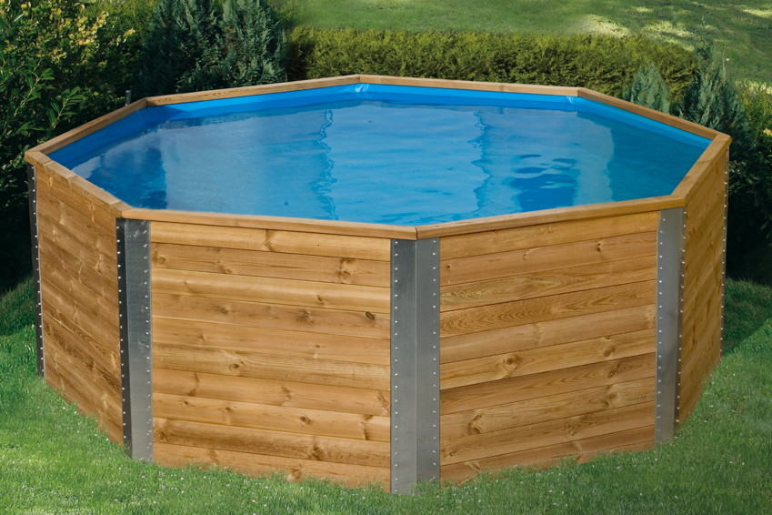 swimmingpool holzpool pool im garten. Black Bedroom Furniture Sets. Home Design Ideas