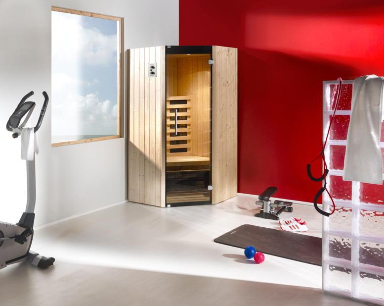 infrarotkabine 542 eck w rmekabine infrarotw rme infrarotsauna holz angebot. Black Bedroom Furniture Sets. Home Design Ideas