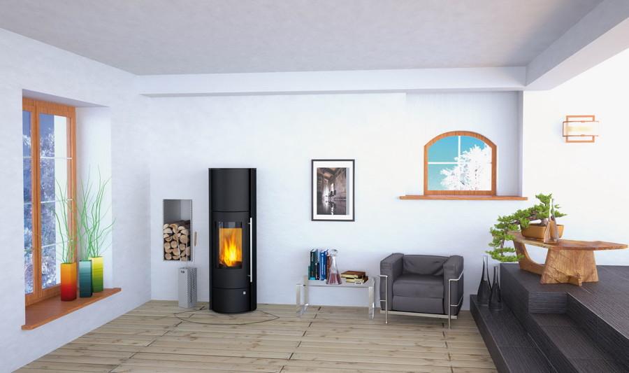 design kaminofen 5kw olsberg tenorio powersystem compact. Black Bedroom Furniture Sets. Home Design Ideas