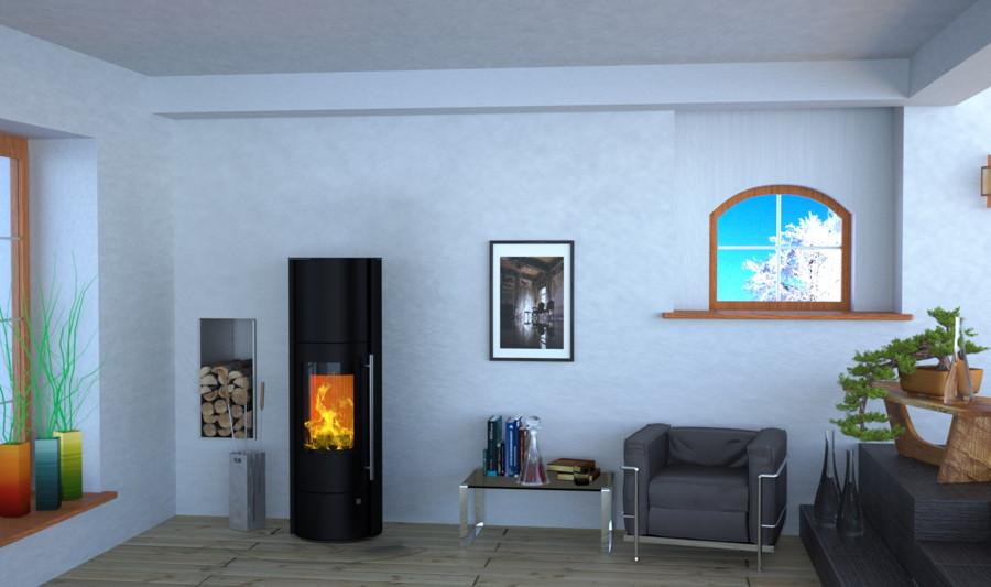 design kaminofen 5kw olsberg tenorio powersystem compact standkamin mit speicher ebay. Black Bedroom Furniture Sets. Home Design Ideas