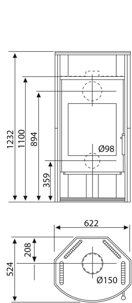 kaminofen wamsler delta 8kw automatikkamin stahlkamin mit thermoautomatik holz angebot. Black Bedroom Furniture Sets. Home Design Ideas